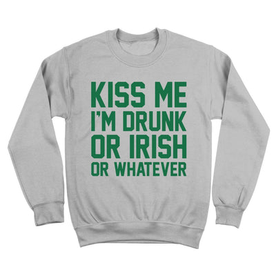 Kiss Me Im Drunk Irish - DonkeyTees