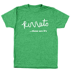 Rizzuto Those Are Z's Men's Tri-Blend T-Shirt - Donkey Tees