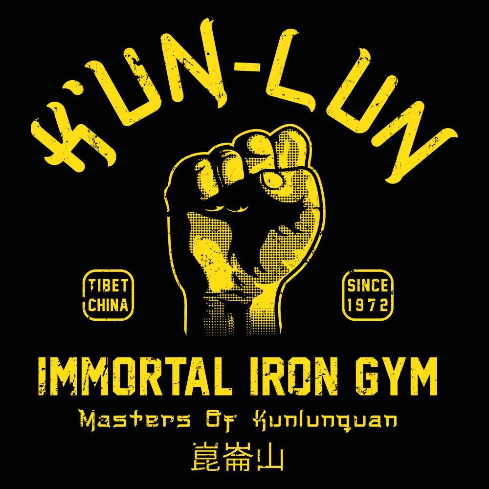 Kun Lun Iron Gym - DonkeyTees