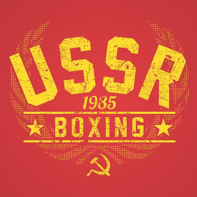 Ussr Boxing 1985 - DonkeyTees