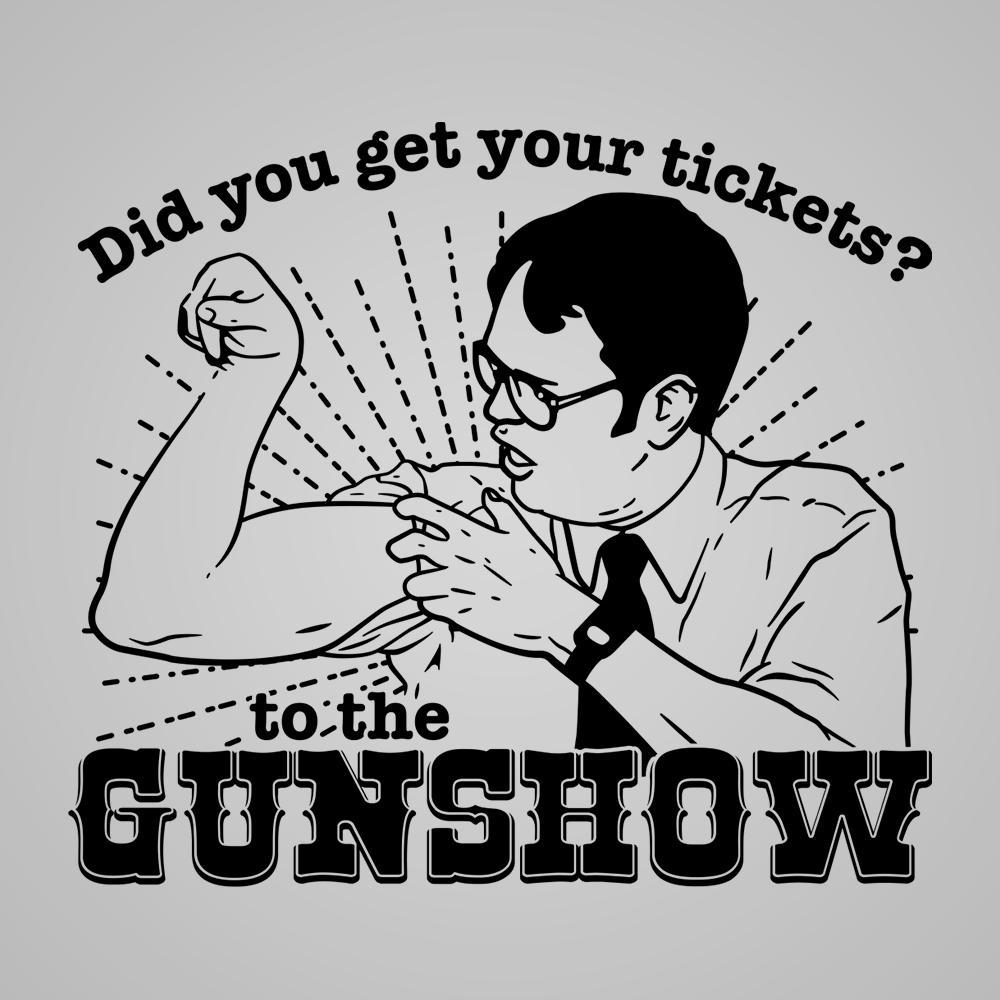 The Dwight Schrute Gun Show - DonkeyTees