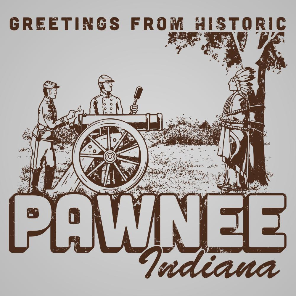 Greetings From Pawnee - DonkeyTees