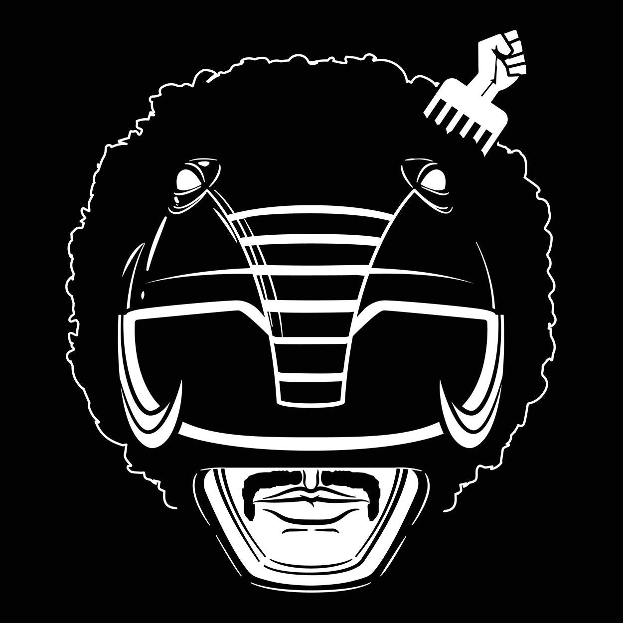 Black Power Ranger - DonkeyTees
