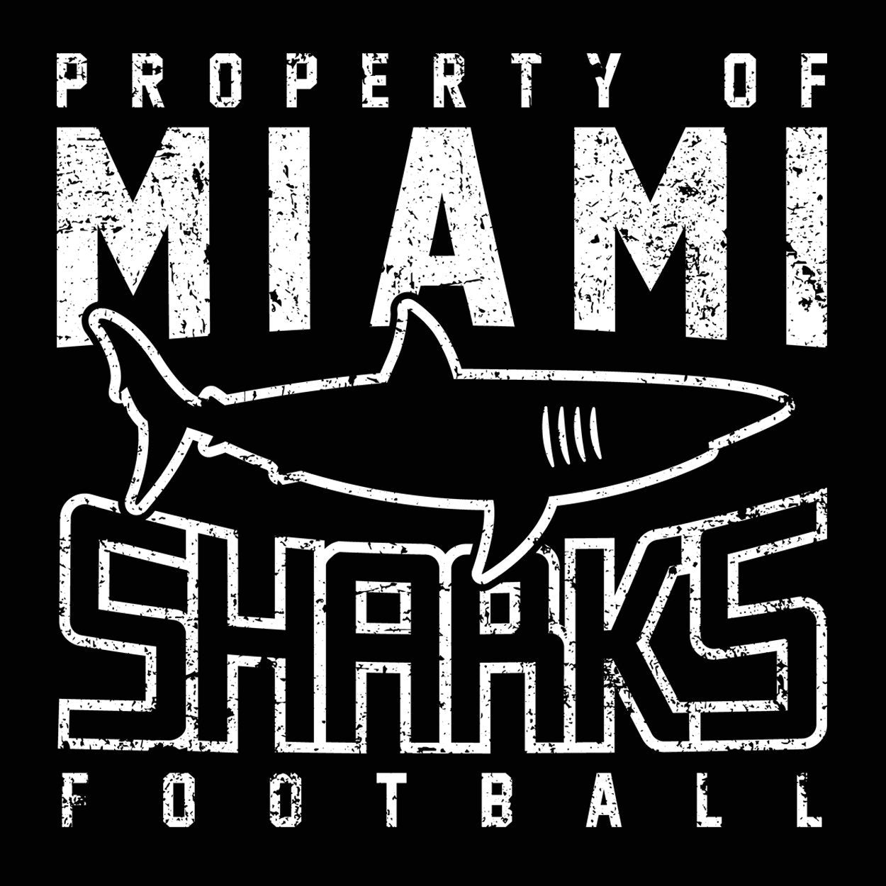 Miami Sharks - DonkeyTees