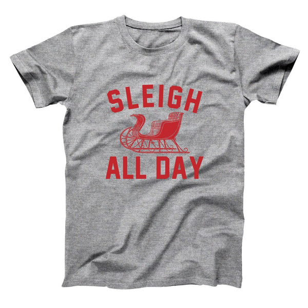 Sleigh All Day Men's T-Shirt - Donkey Tees