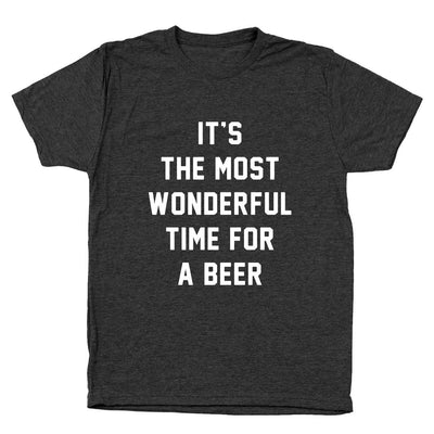 The Most Wonderful Time For A Beer - DonkeyTees