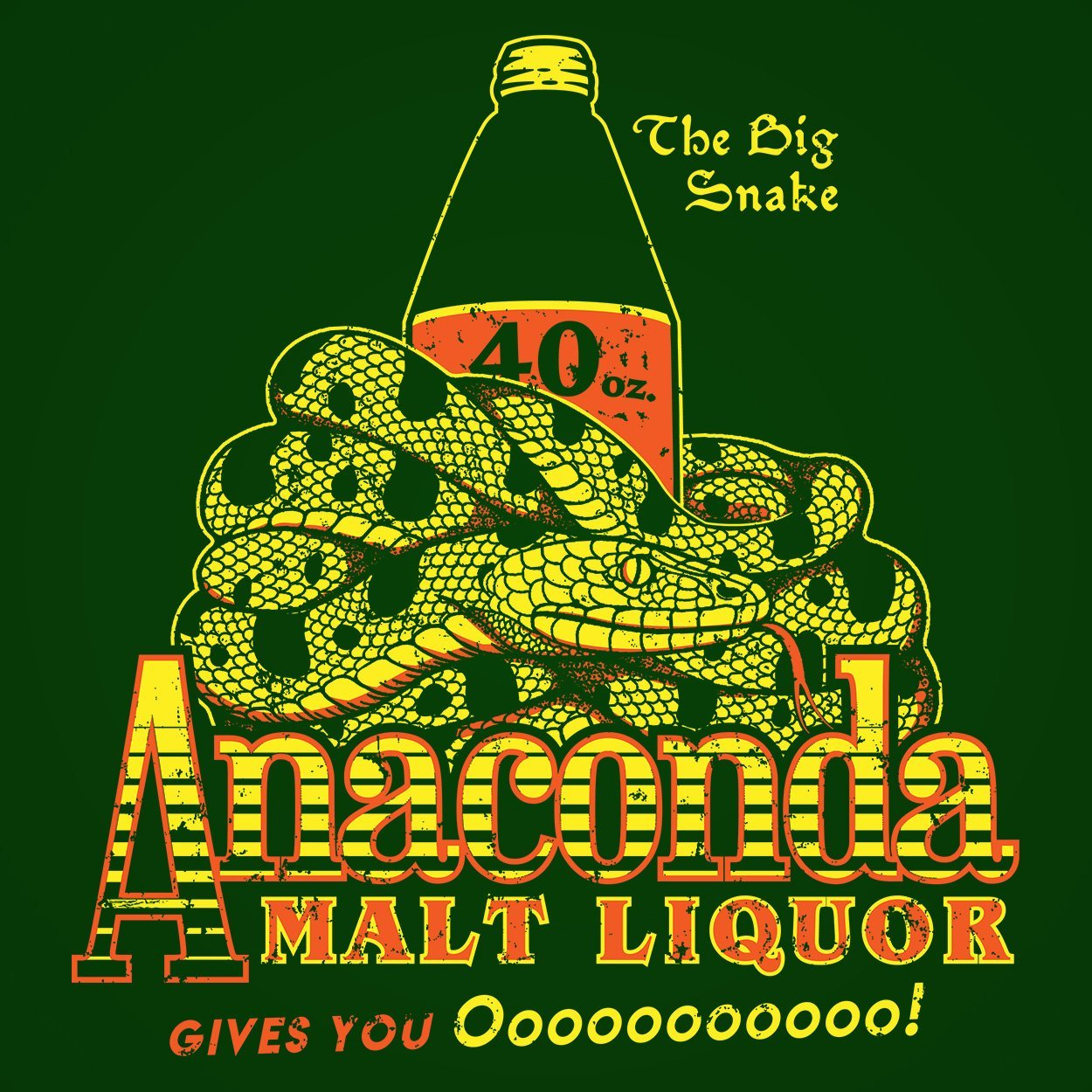 Anaconda Malt Liquor - DonkeyTees