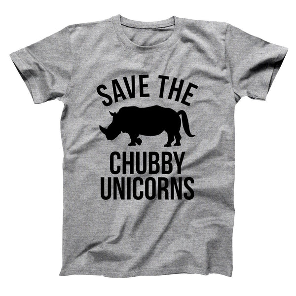 Save The Chubby Unicorns Men's T-Shirt - Donkey Tees