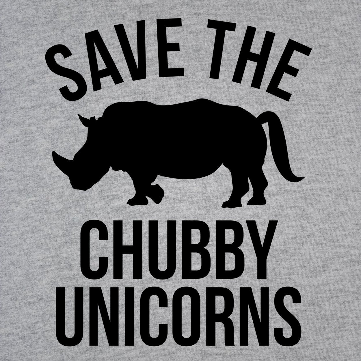 Save The Chubby Unicorns - DonkeyTees