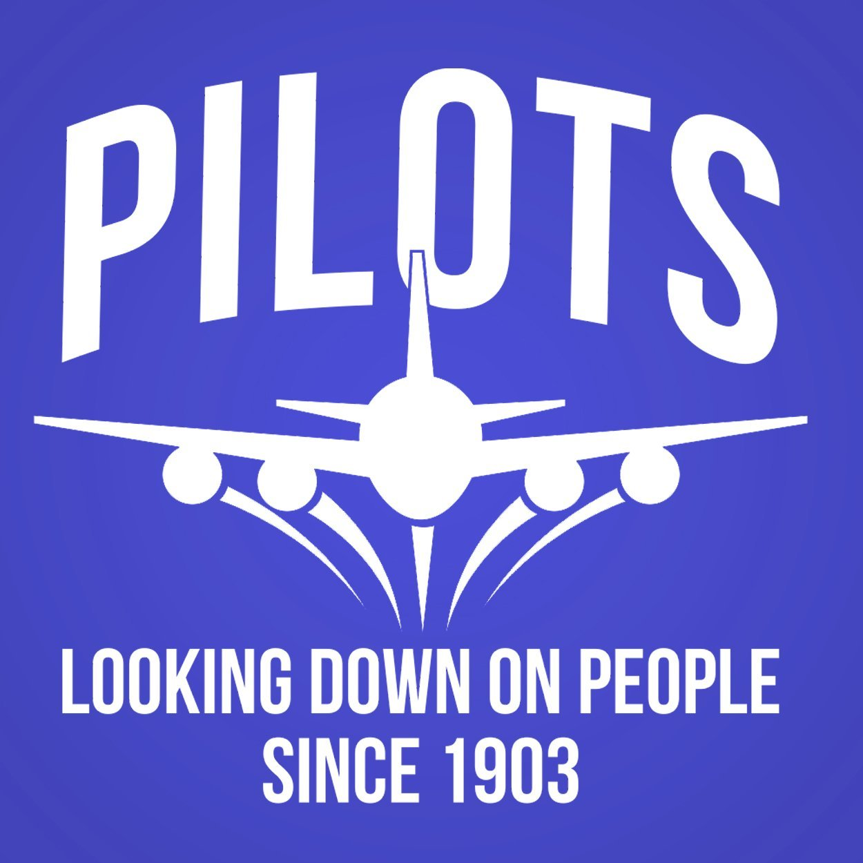 Pilots Looking Down On People