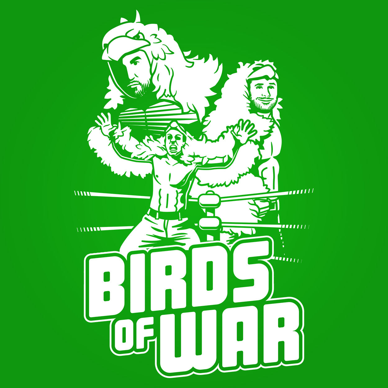 The Birds of War Wrestling Crew - DonkeyTees