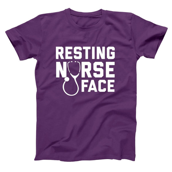 Resting Nurse Face Men's T-Shirt - Donkey Tees