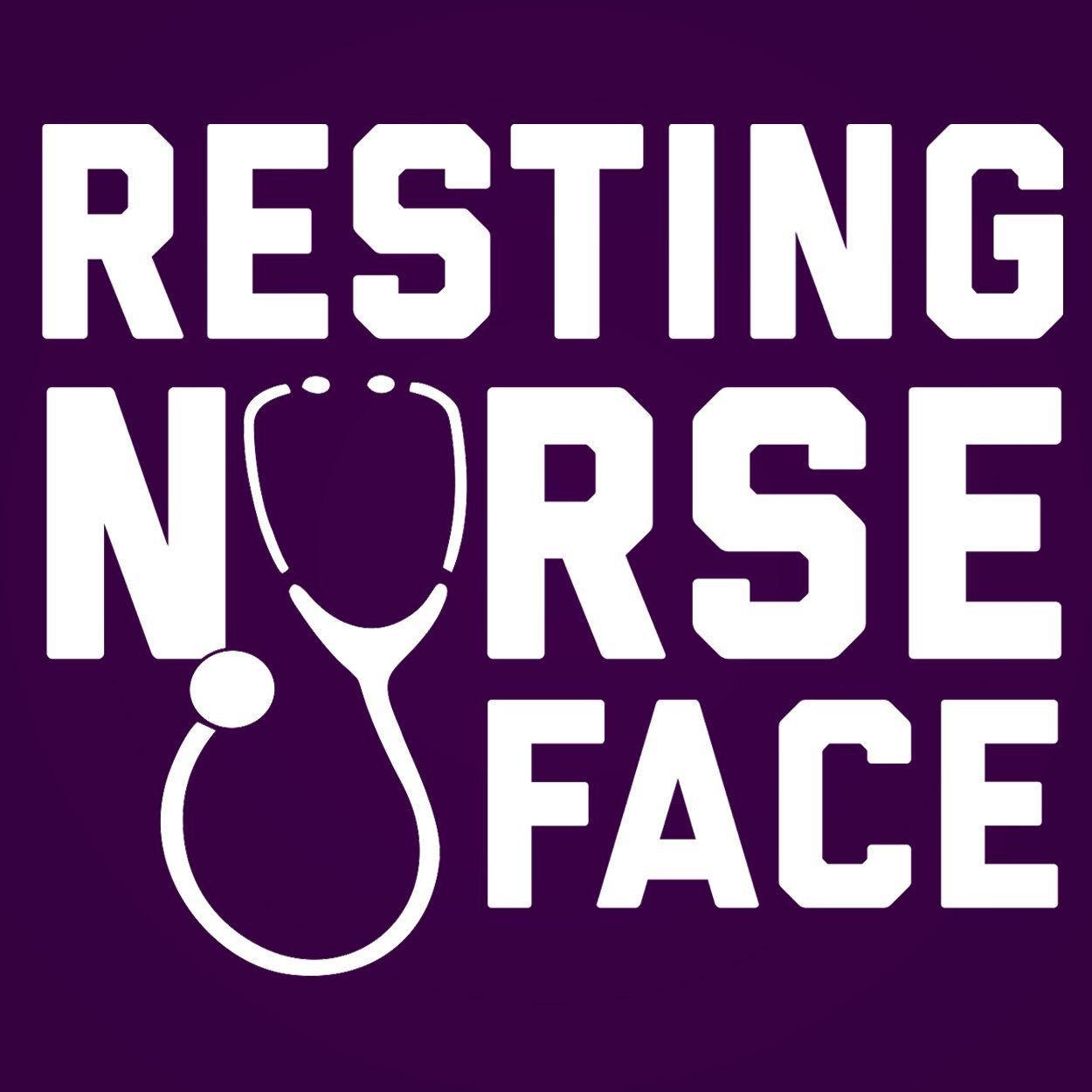 Resting Nurse Face - DonkeyTees