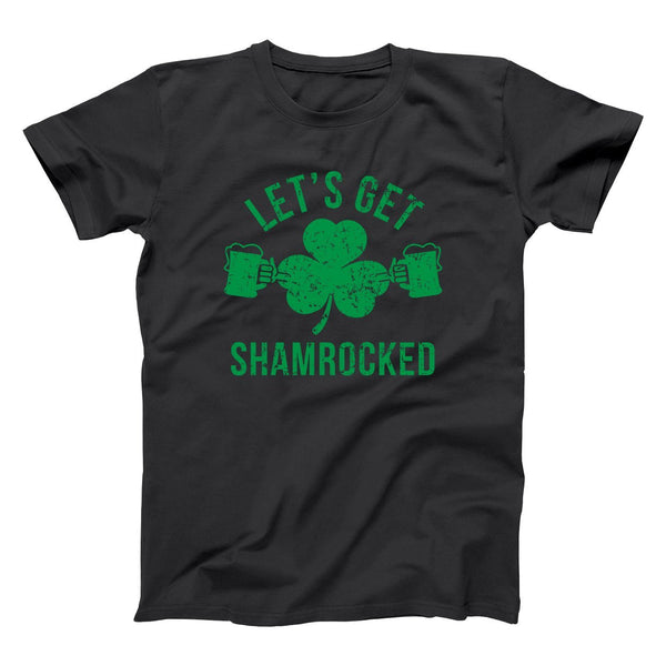 Let's Get Shamrocked Men's T-Shirt - Donkey Tees