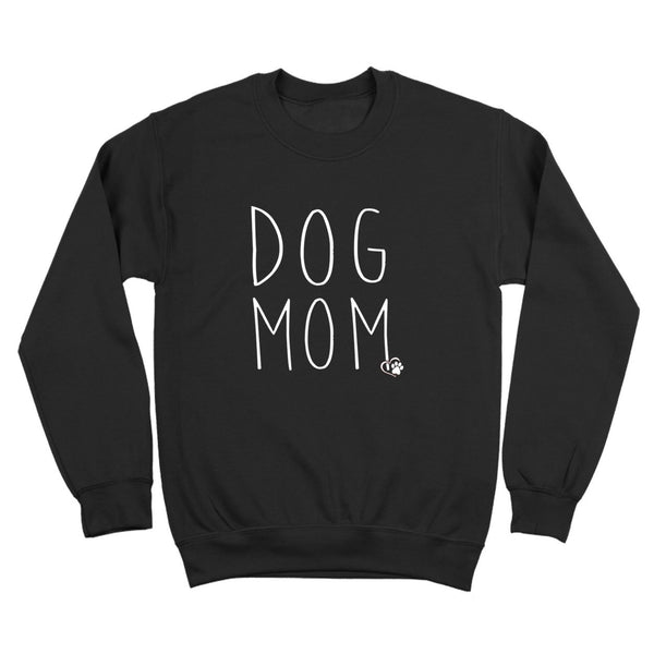 Dog Mom Crewneck Sweatshirt - Donkey Tees
