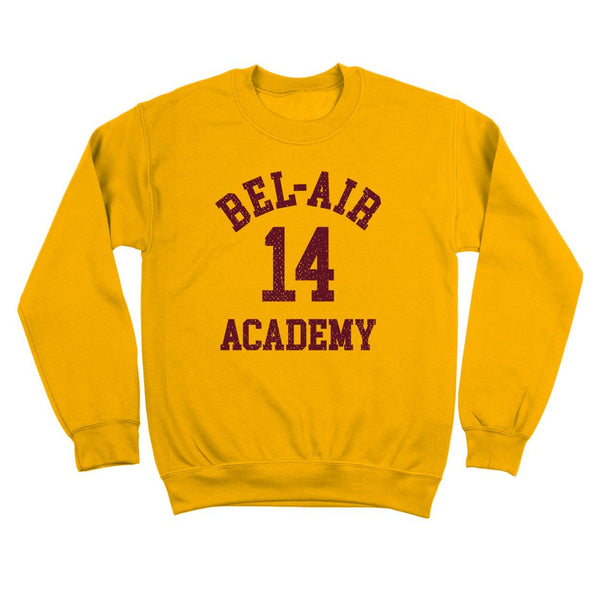 Bel-Air 14 Academy Basketball Crewneck Sweatshirt - Donkey Tees