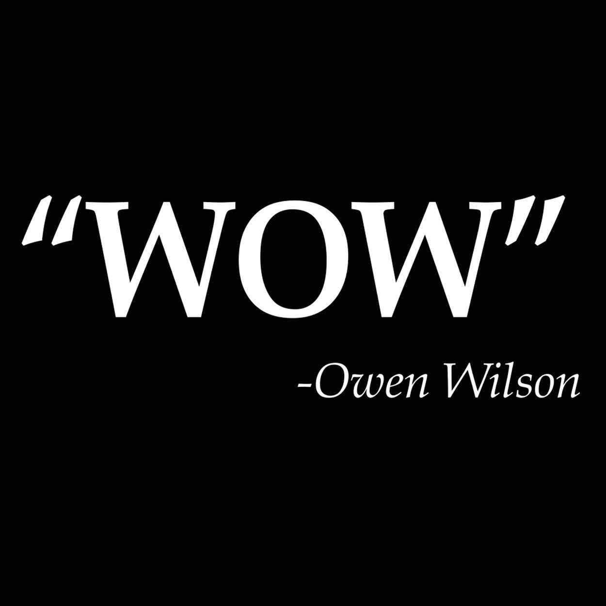 Wow Owen Wilson Quote