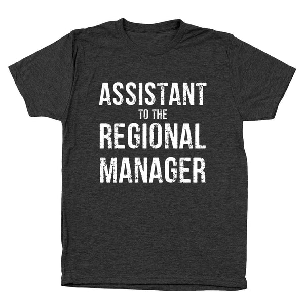 Assistant to the Regional Manager Men's Tri-Blend T-Shirt