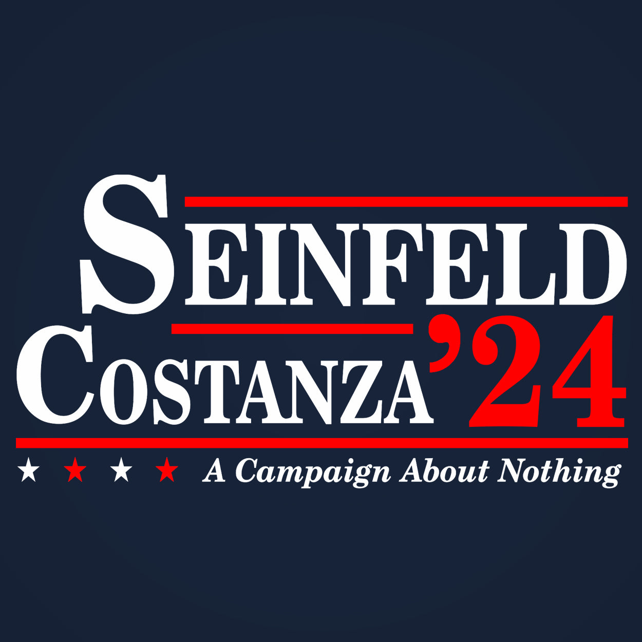 Seinfeld Costanza 2020 Election - DonkeyTees
