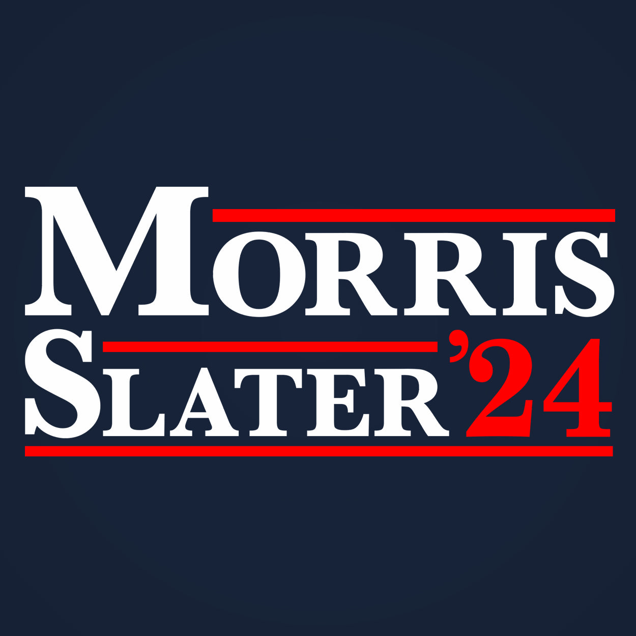 Morris and Slater 2020 Election - DonkeyTees