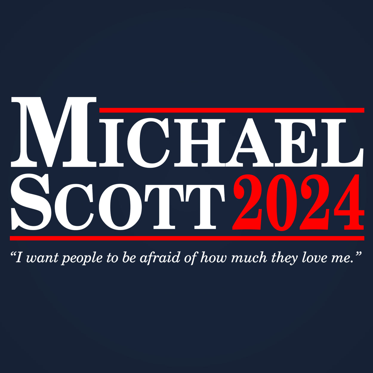 Michael Scott 2024 Election