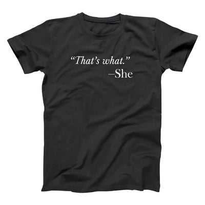 That's What She Said Quote - DonkeyTees