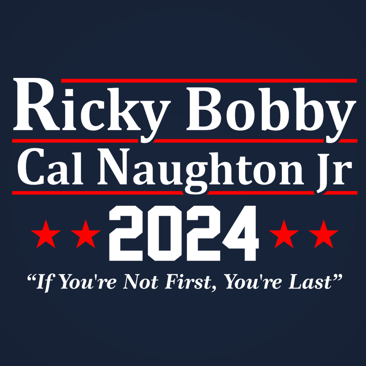 Ricky Bobby Cal Naughton Jr 2024 Election
