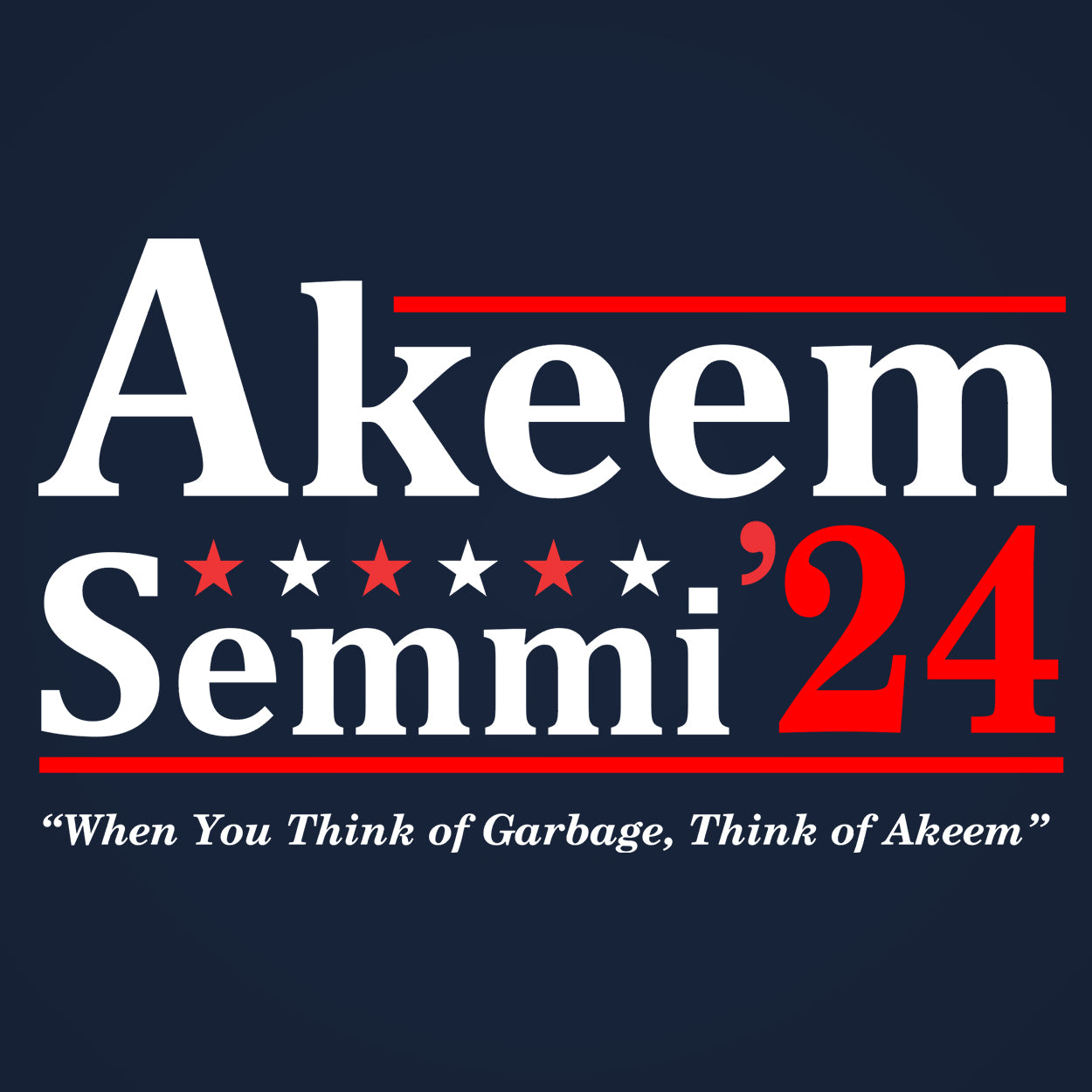Akeem and Semmi 2024 Election