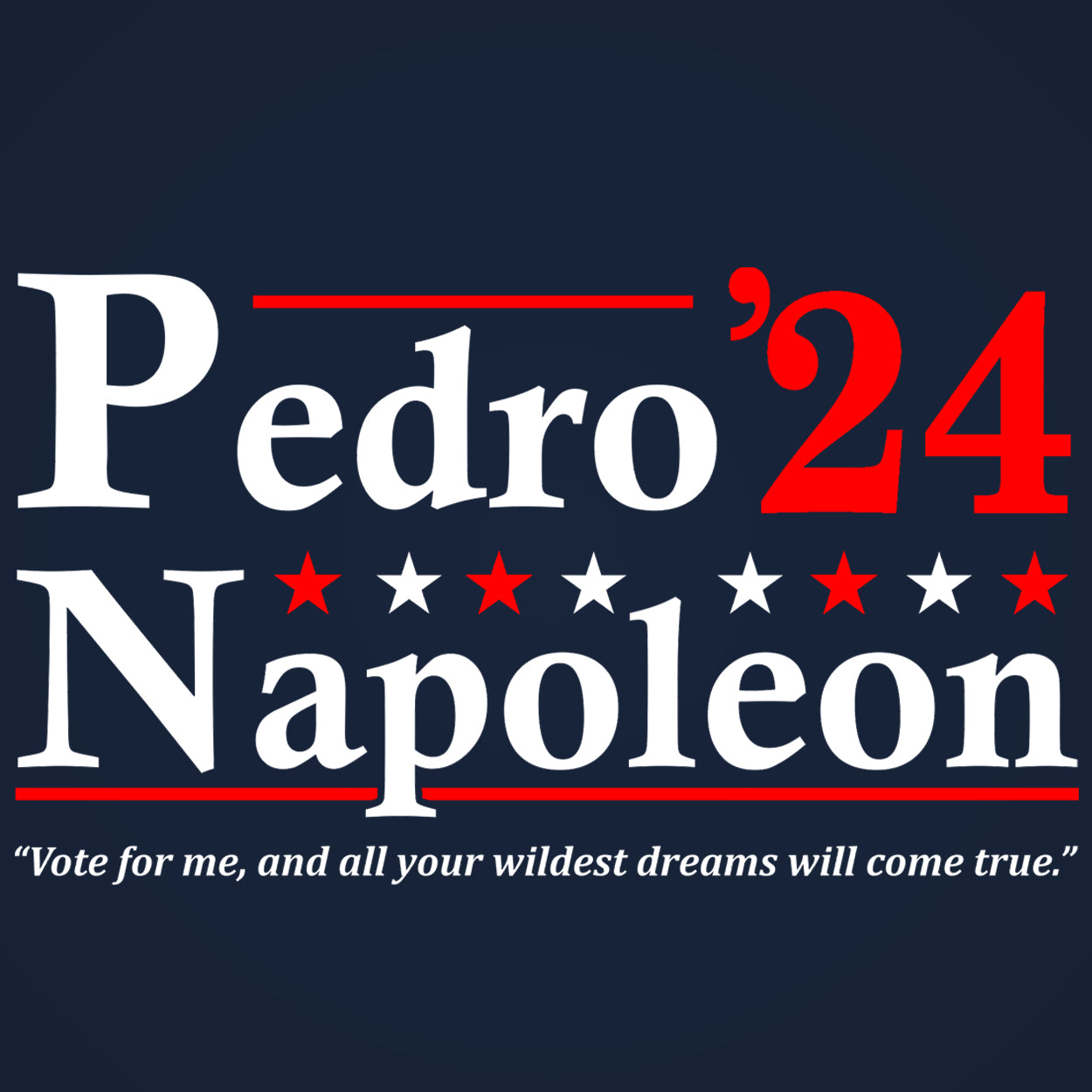 Pedro Napoleon 2024 Election