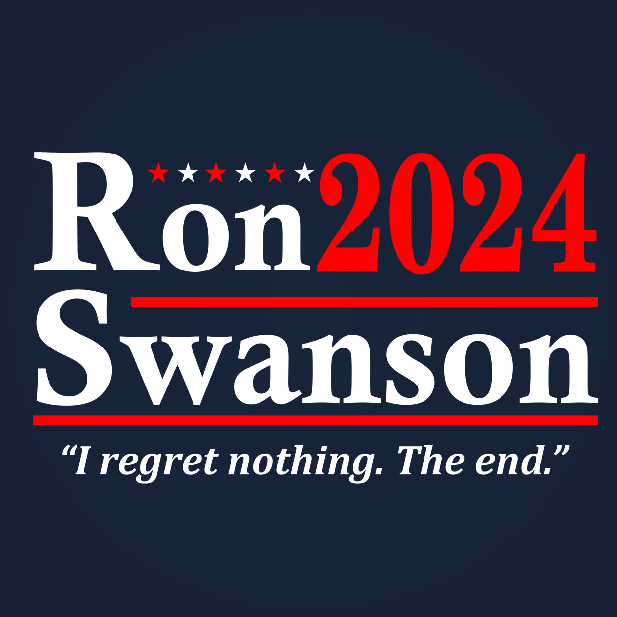 Ron Swanson 2024 Election