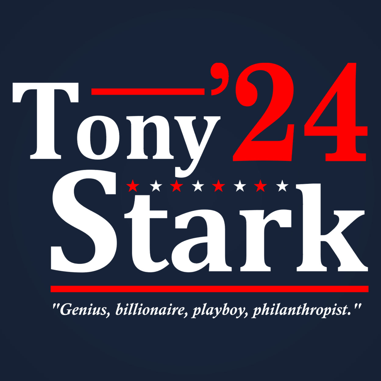 TONY STARK 2020 ELECTION - DonkeyTees