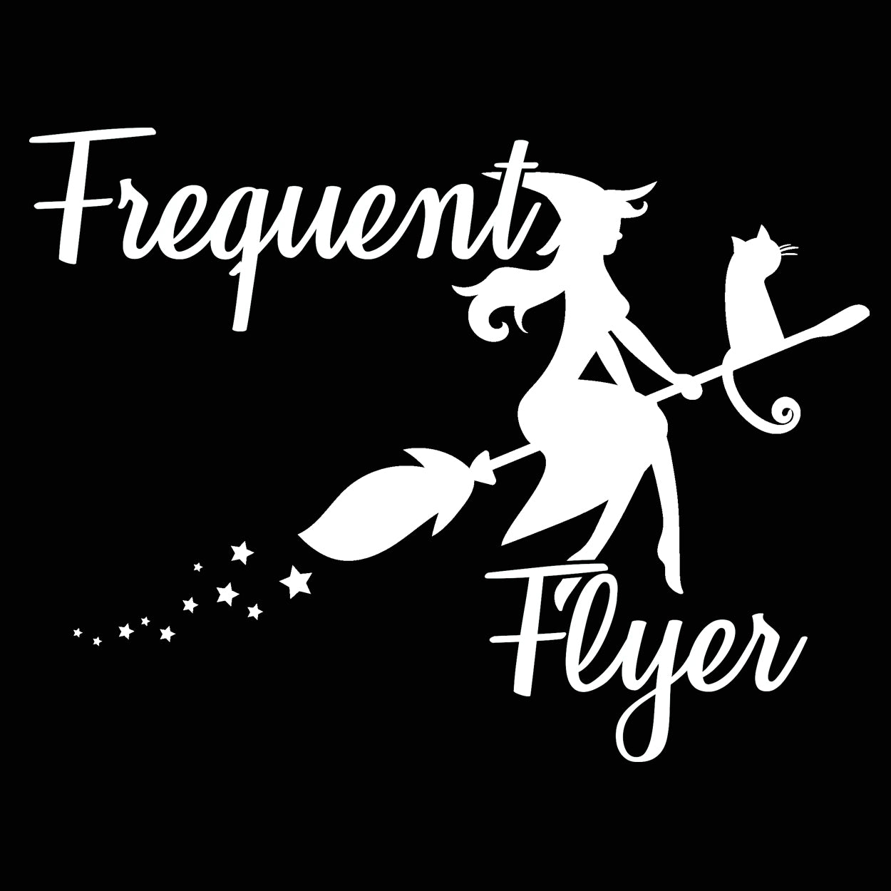 FREQUENT FLYER WITCH - DonkeyTees
