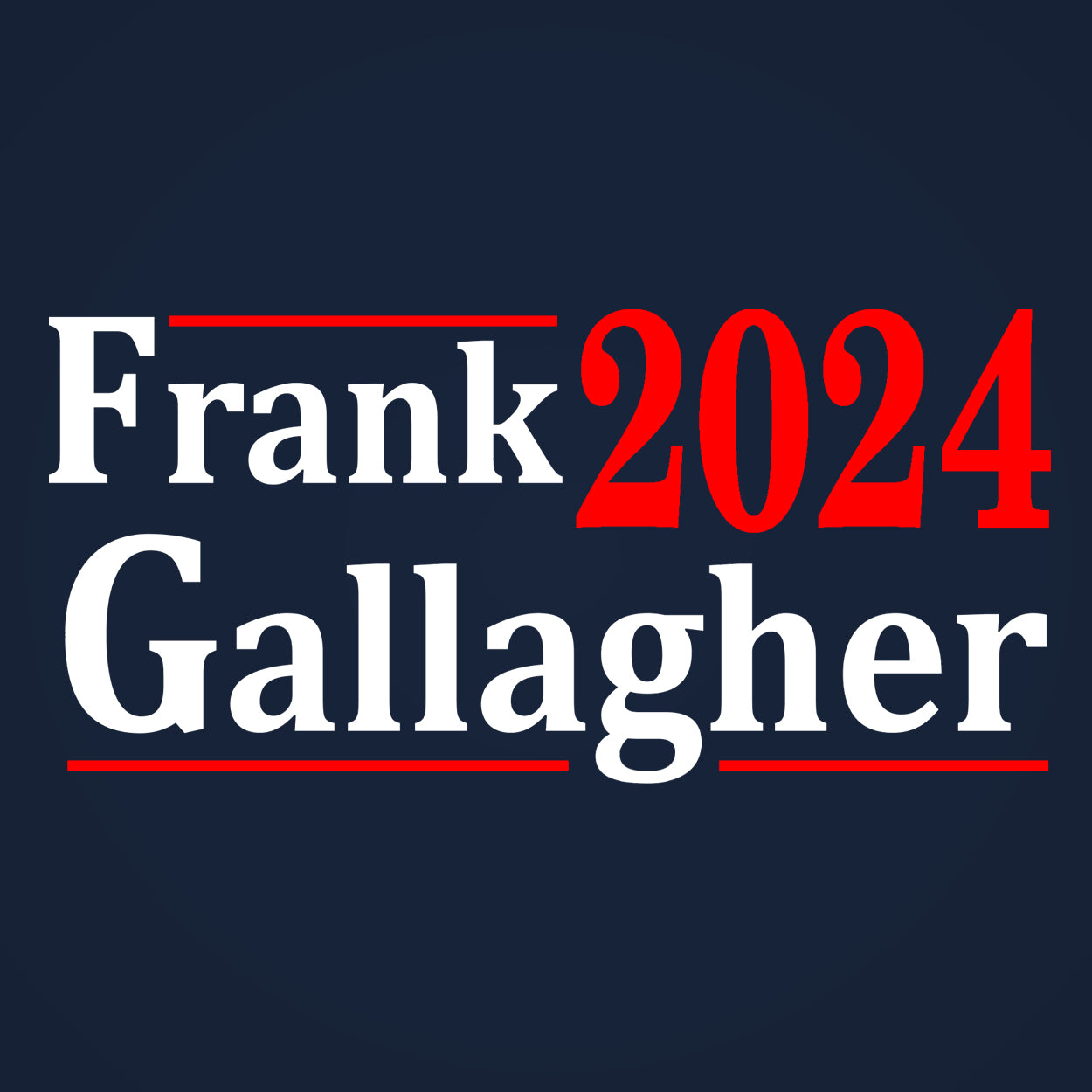 Frank Gallagher 2024 ELECTION