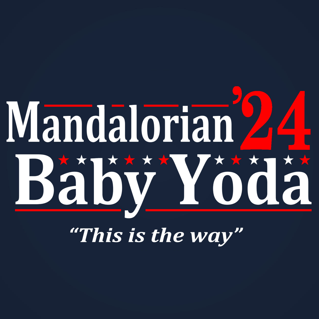 Mandalorian Baby Yoda 2024 Election