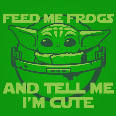 Baby Yoda Feed Me Frogs - DonkeyTees