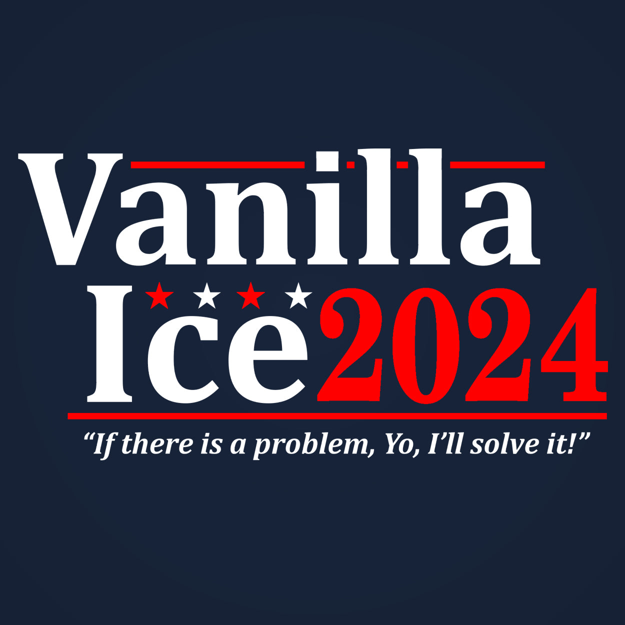 Vanilla Ice 2024 ELECTION