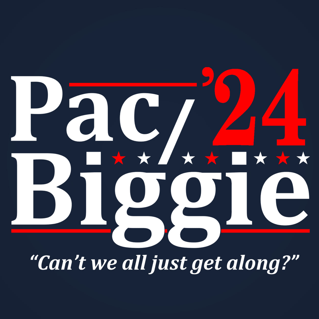 Pac and Biggie 2024 ELECTION