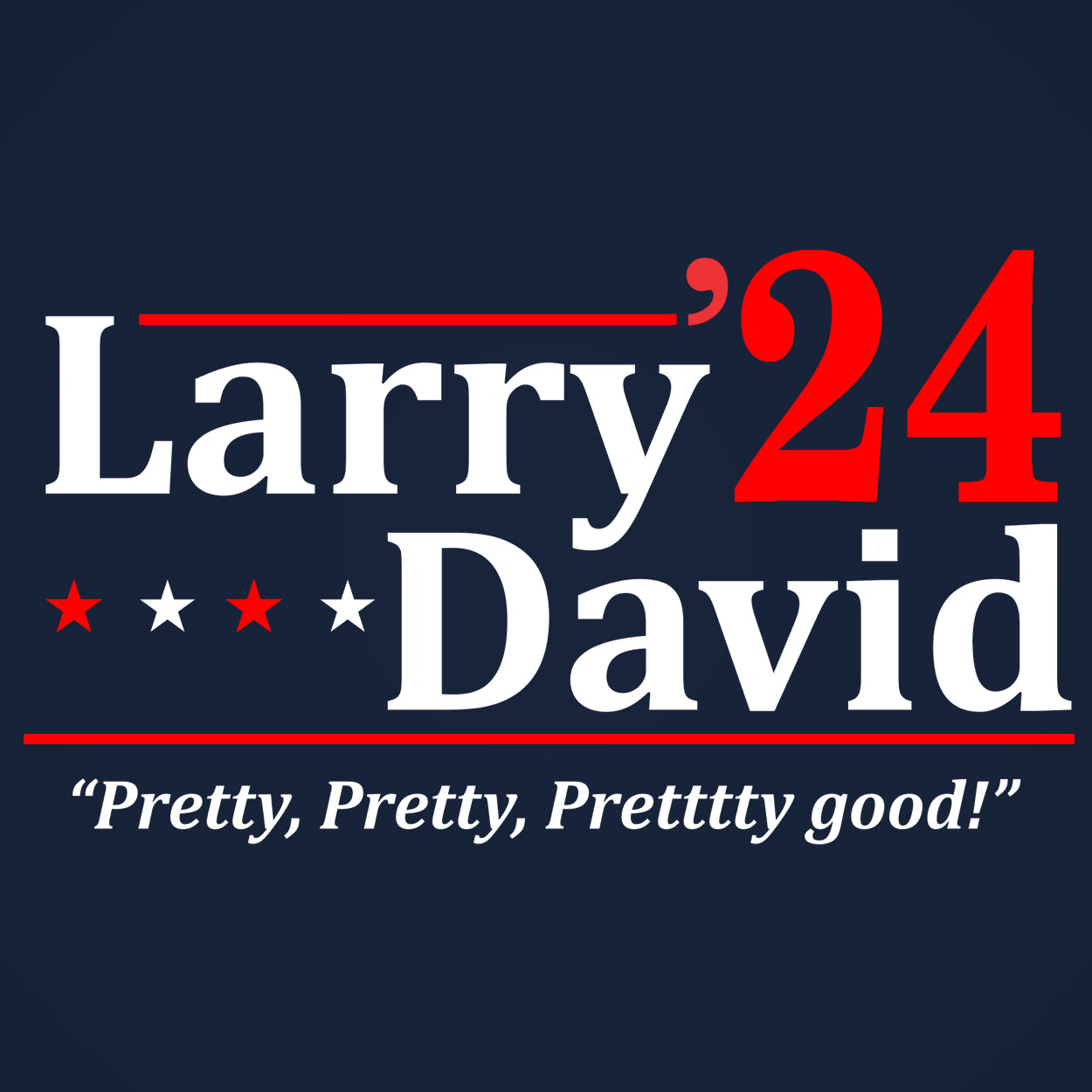 Larry David 2020 ELECTION - DonkeyTees