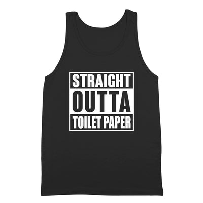 Straight Outta Toilet Paper - DonkeyTees