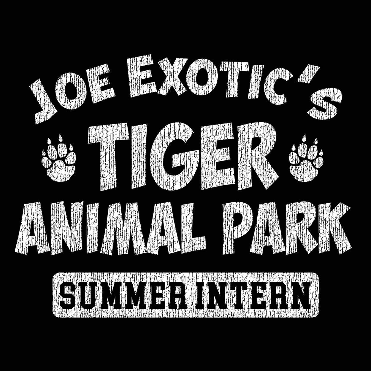 Joe Exotic's Tiger Animal Park Summer Intern - DonkeyTees
