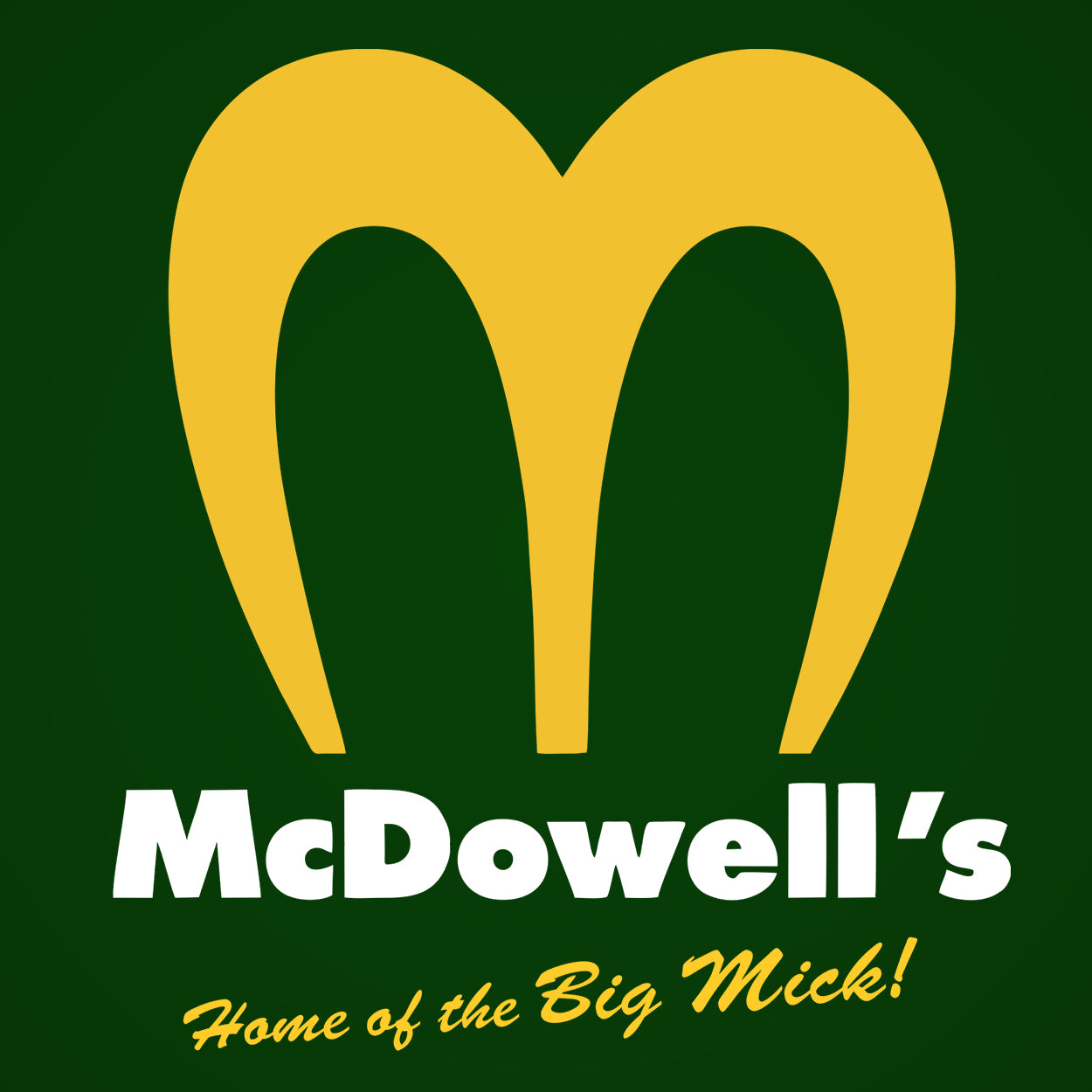 Mc Dowell's Golden Arches