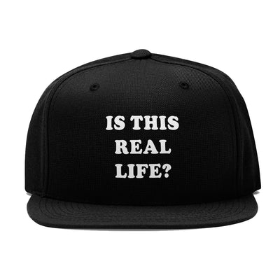 Is This Real Life ? - Trucker Hat - DonkeyTees
