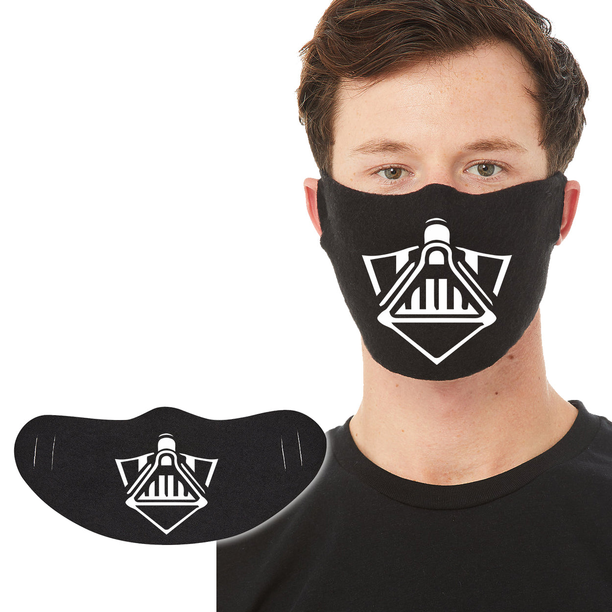 Cotton Face Mask 1P - Vader - DonkeyTees