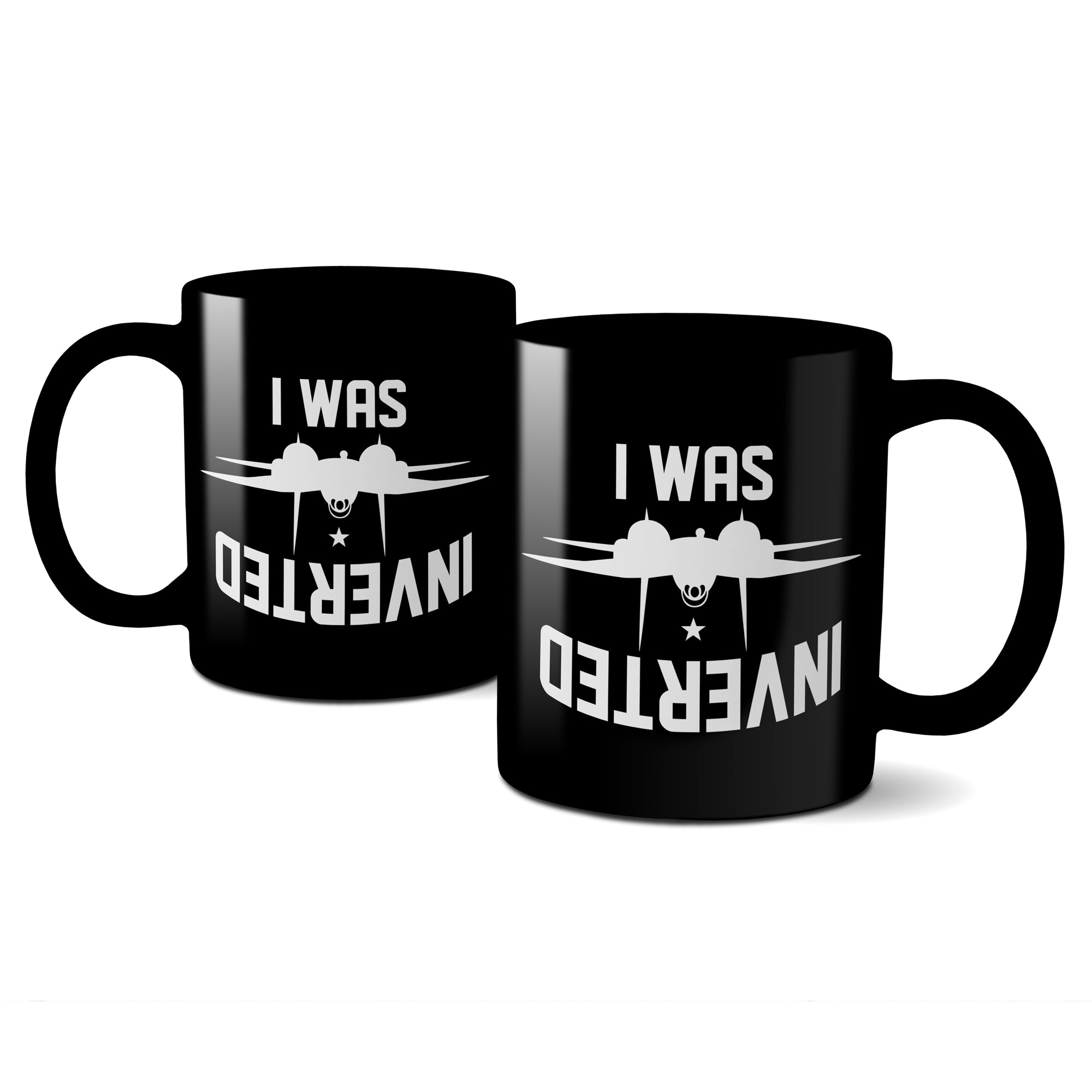 I Was Inverted Mug - DonkeyTees