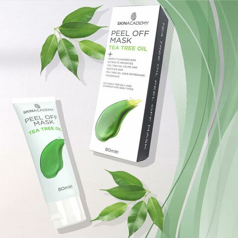 Indulge Peel off Maski - Tea Tree Oil