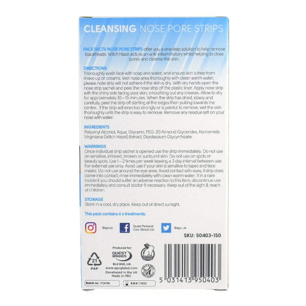 Nose Pore Strips - Cleansing