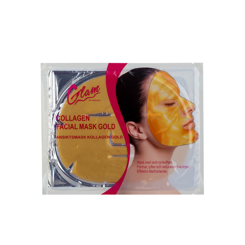 Andlitsmaski - Collagen - Gold