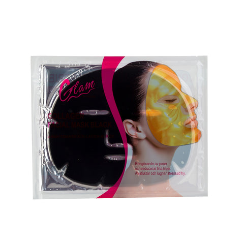 Andlitsmaski - Collagen - Black