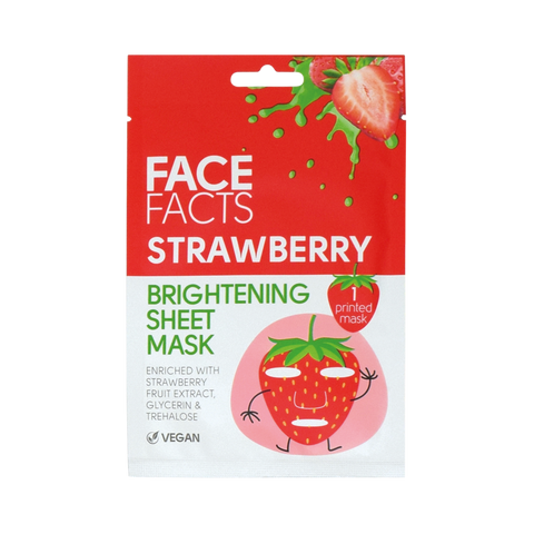 Printed Sheet Mask - Fruits Strawberry