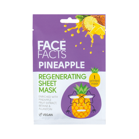 Printed Sheet Mask - Pineapple
